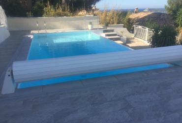 Remise en état piscine à débordement six fours 83
