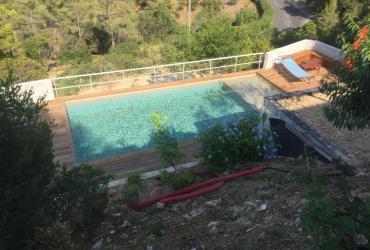 Réduction profondeur piscine béton Hyeres var 83