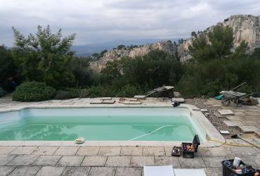 Réparation fuite piscine