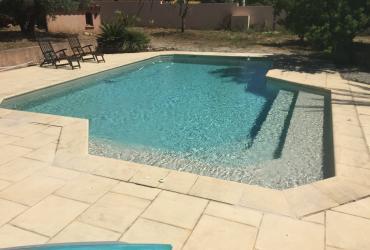 Renovation piscine carrelée carqueiranne 83