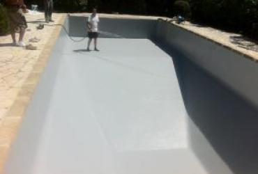 Changement d'un liner sur une piscine panneaux au beausset