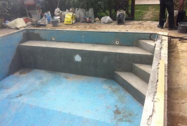 Modification d'une piscine