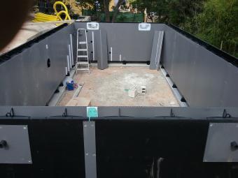 Construction de piscine en béton armé, piscine bois, mini-piscine...