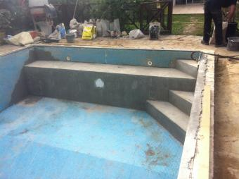 Modification d'une piscine