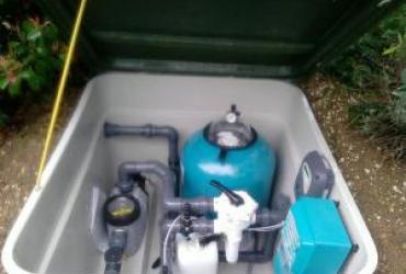 Modification d'une piscine aquagame