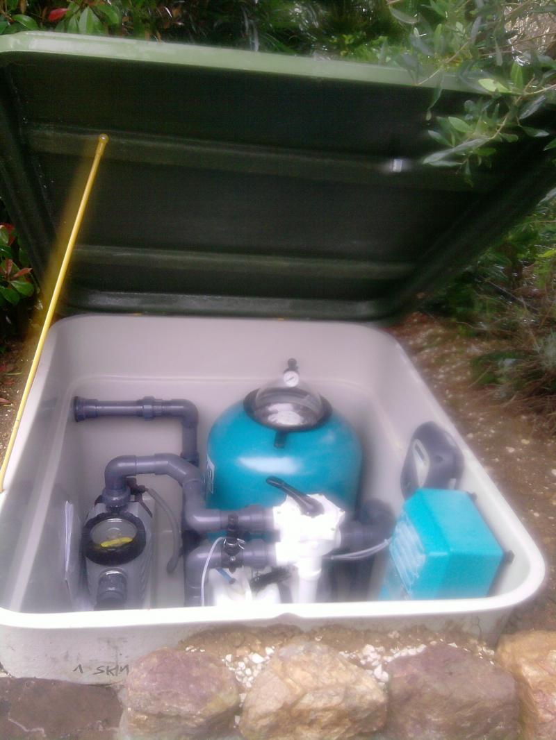 Le r seau hydraulique de la piscine r ussir son projet - Filtration piscine sable ...