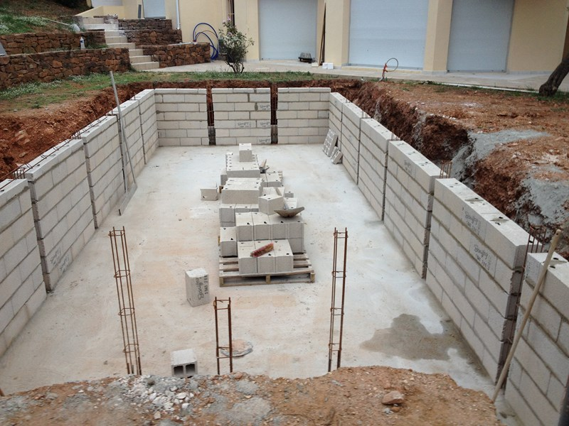 Construire sa piscine en beton soi meme archives for Construction piscine hors sol en beton