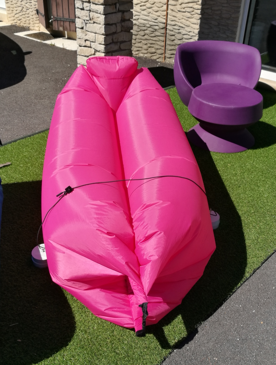 Hamac Gonflable - inflatable sleeping bed
